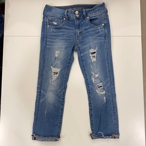 MOVING SALE AE Artist Crop Jeans
